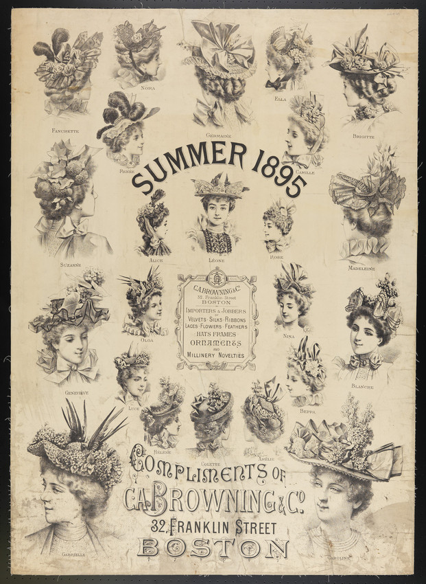 Summer 1895, compliments of C.A. Browning & Co., 32 Franklin Street, Boston