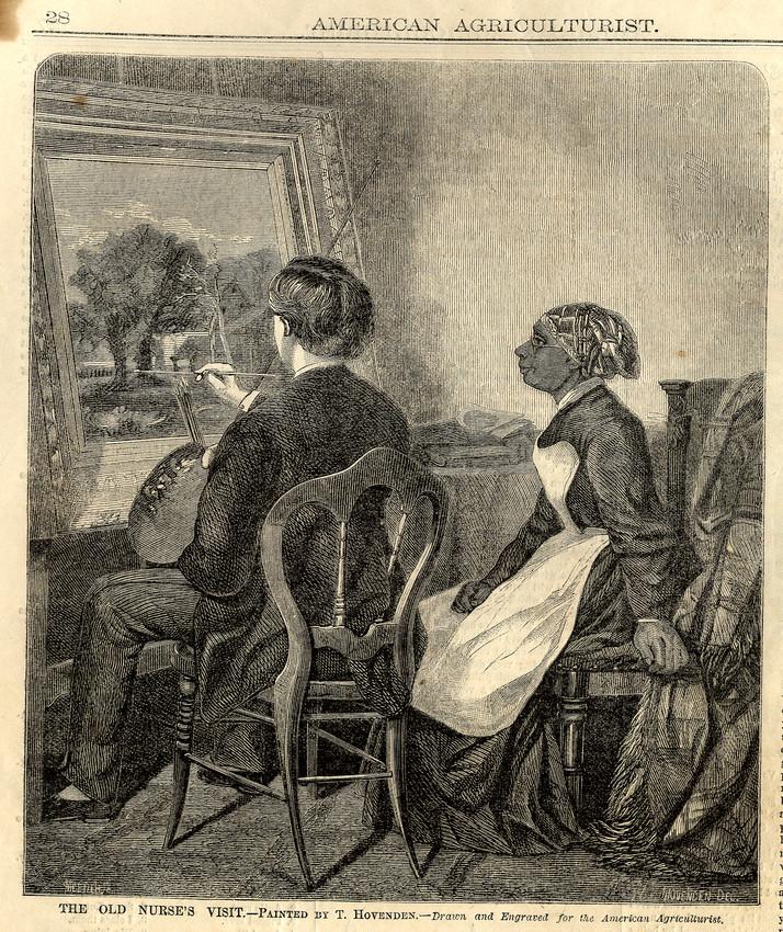 The old nurse's visit