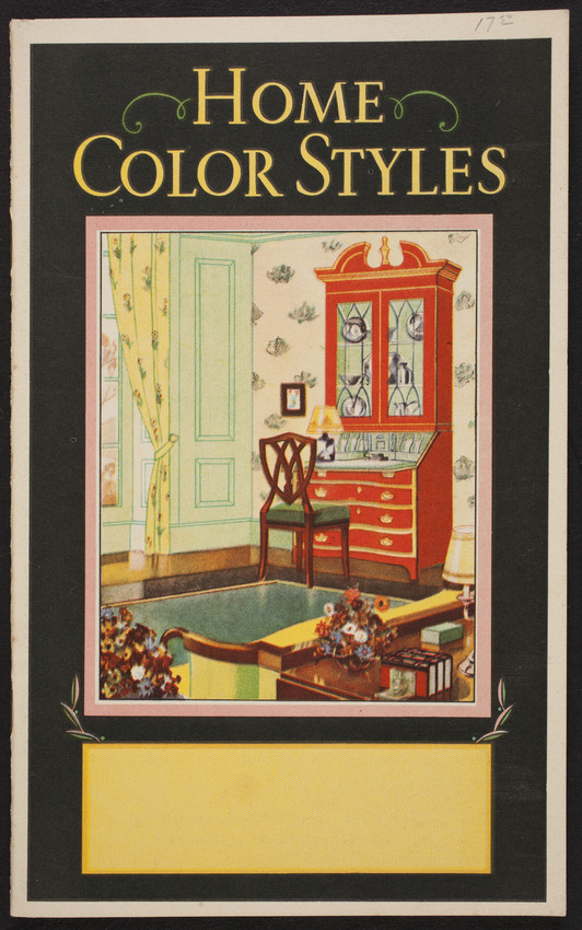 Home color styles, paint, Boston Varnish Company, Boston, Chicago, Montréal, 1931