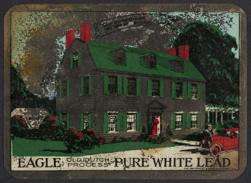 Trade card for Eagle Pure White Lead, Eagle-Picher Company, Cincinnati, Ohio, undated