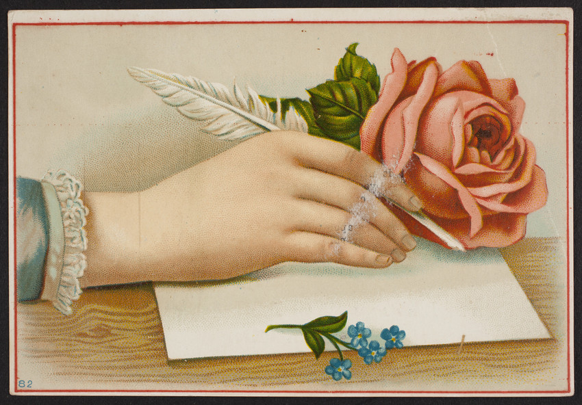 Trade card for Longman & Martinez, pure prepared paint, New York, New York, undated
