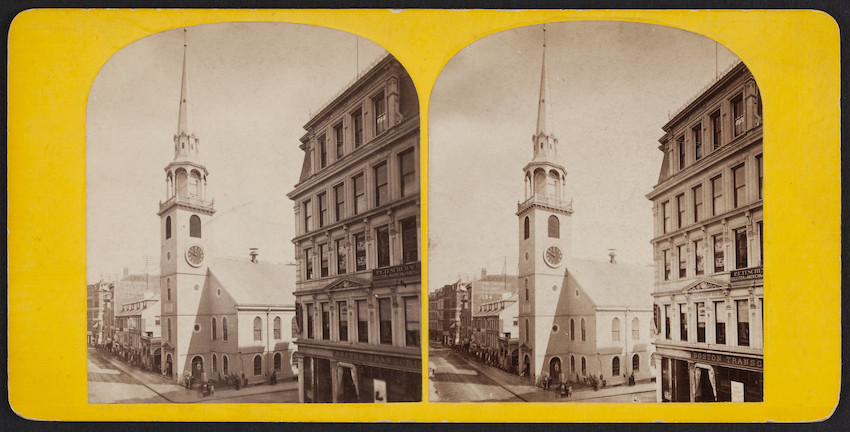 Old South Church, Washington Street, Boston, Mass.