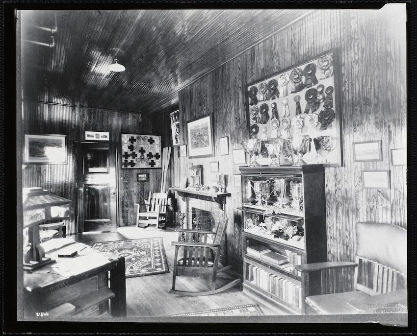 Mrs. T.G. Plant's trophy room