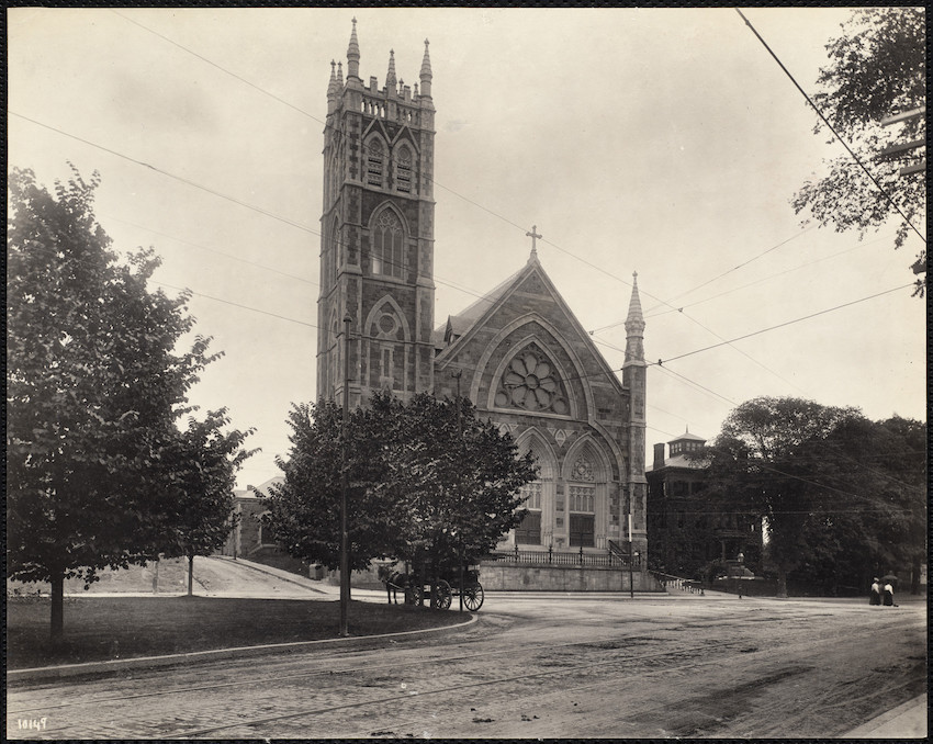 St. Peter's Church, Bowdoin at Percival Street, Dorchester