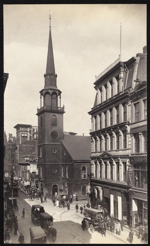 Old South Church, Washington St., Boston