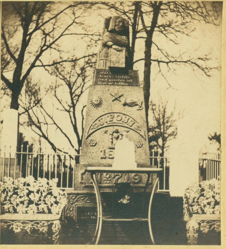 Foss monument, Mt. Auburn Cemetery, Cambridge, Mass.