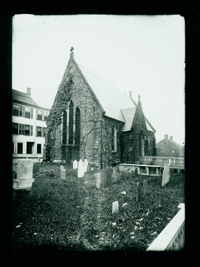 St. Anna's Chapel next to St. Paul's Church, Newburyport, Mass, undated