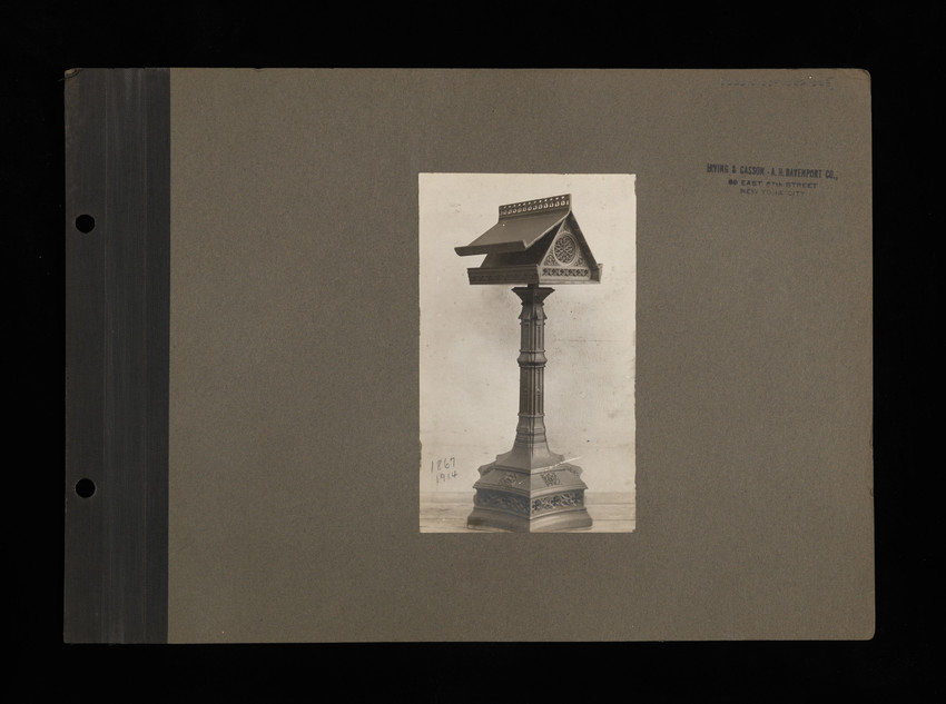 Unbound Photo Album Pages