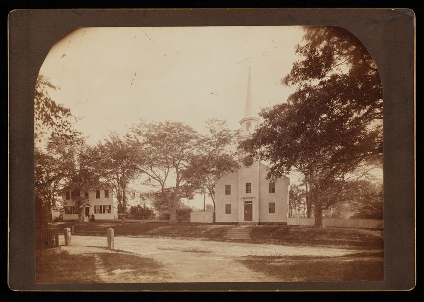 Unidentified church, possibly Wakefield, Rhode Island