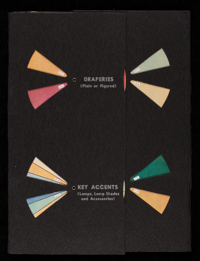 Mohawk color chart, Mohawk Carpet Mills, Inc., Amsterdam, New York