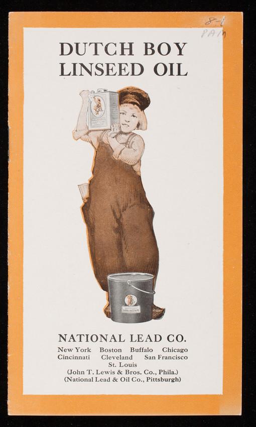 Dutch Boy Linseed Oil, National Lead Co., New York, New York