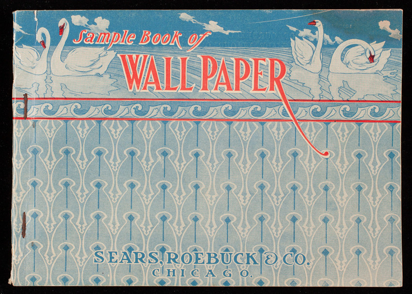 Sample book of wall paper, 1905 patterns, Sears, Roebuck and Co., Chicago, Illinois