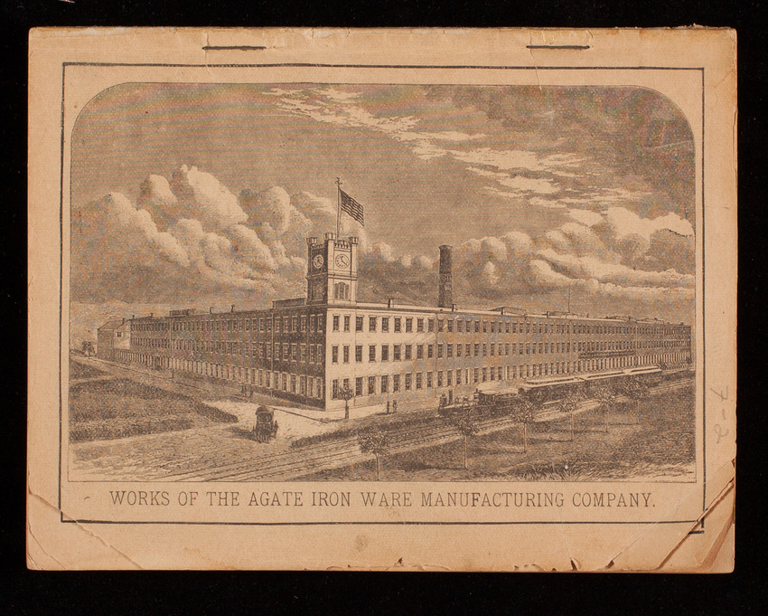 Agate cook book, Lalance & Grosjean Manufacturing Co., New York, New York