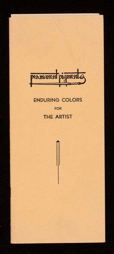 Enduring colors for the artist, Permanent Pigments, 1127 W. Sixth Street, Cincinnati, Ohio