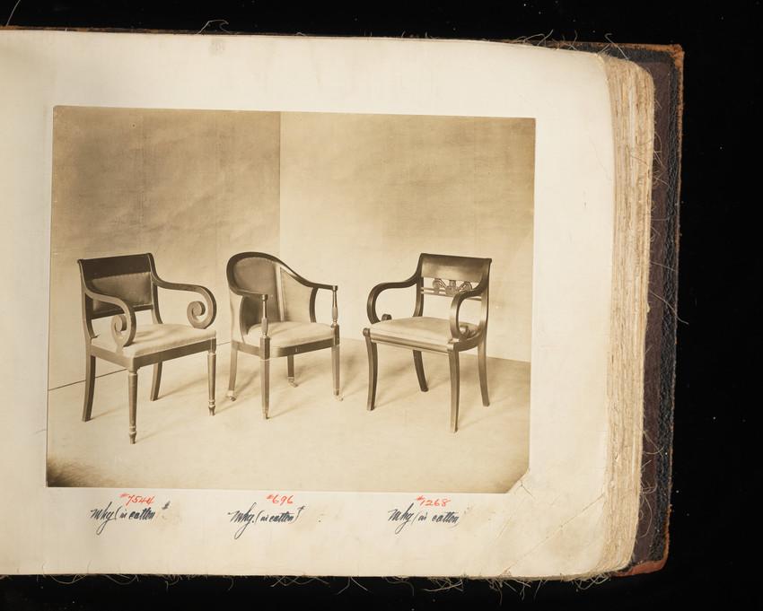 Arm Chair #7544, Arm Chair #696 and Arm Chair #1268