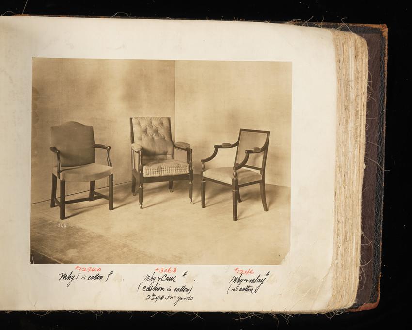 Arm Chair #12940, Arm Chair #3063 and Arm Chair #1246