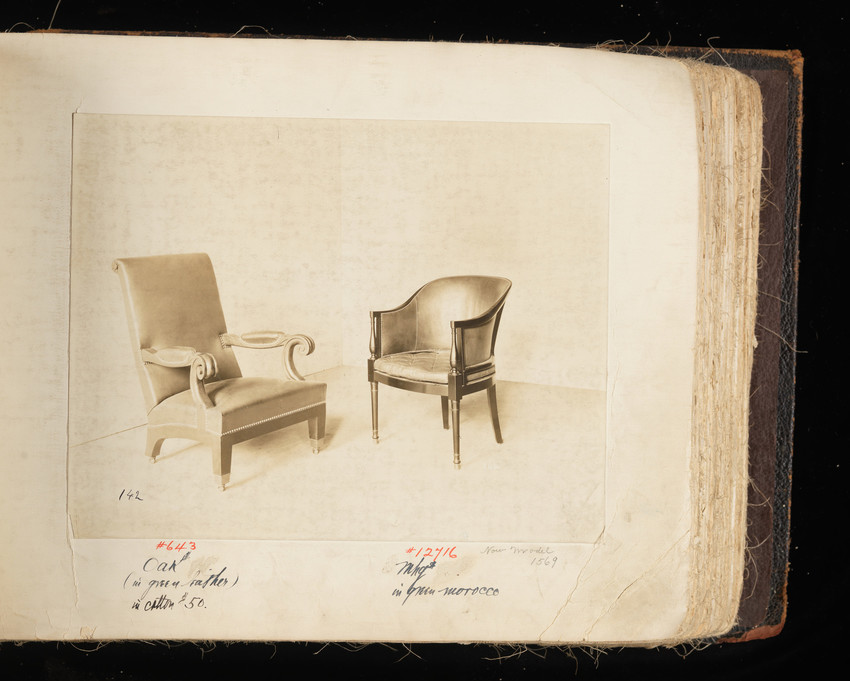 Arm Chair #643 and Arm Chair #12716