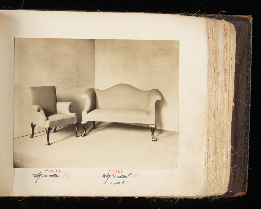 Arm Chair #12152 and Sofa #11866