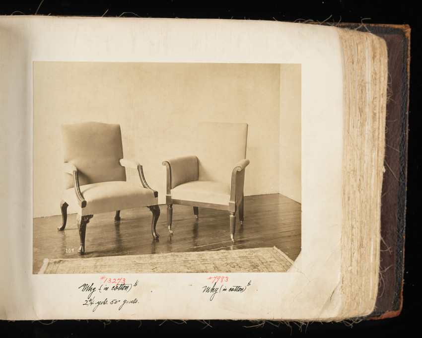 Arm Chair #13273 and Arm Chair #7983
