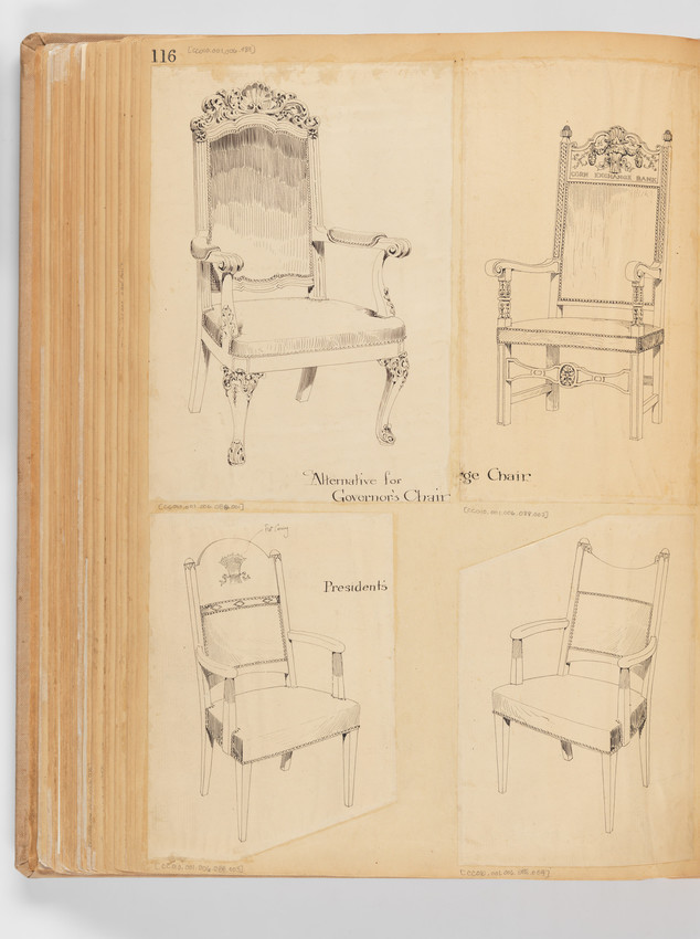 Chairs. Rockers. -- Page 116