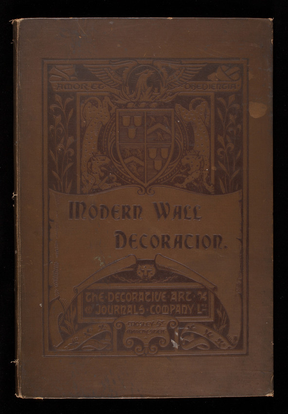 Modern wall decoration, The Decorative Art Journals Company, Ltd., Mosley Street, Manchester, England