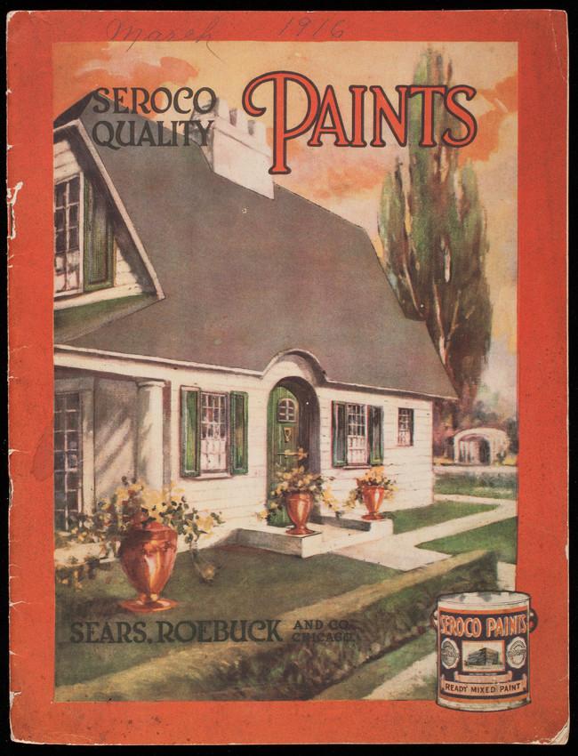 Seroco Quality Paints, Sears, Roebuck and Co., Chicago, Illinois