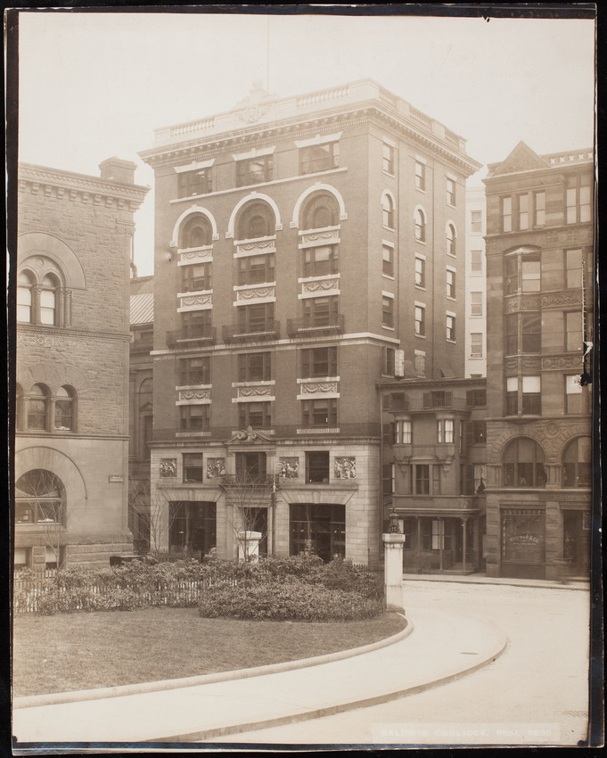 Congregational House, 14 Beacon St., Boston, Mass., May 2, 1904.