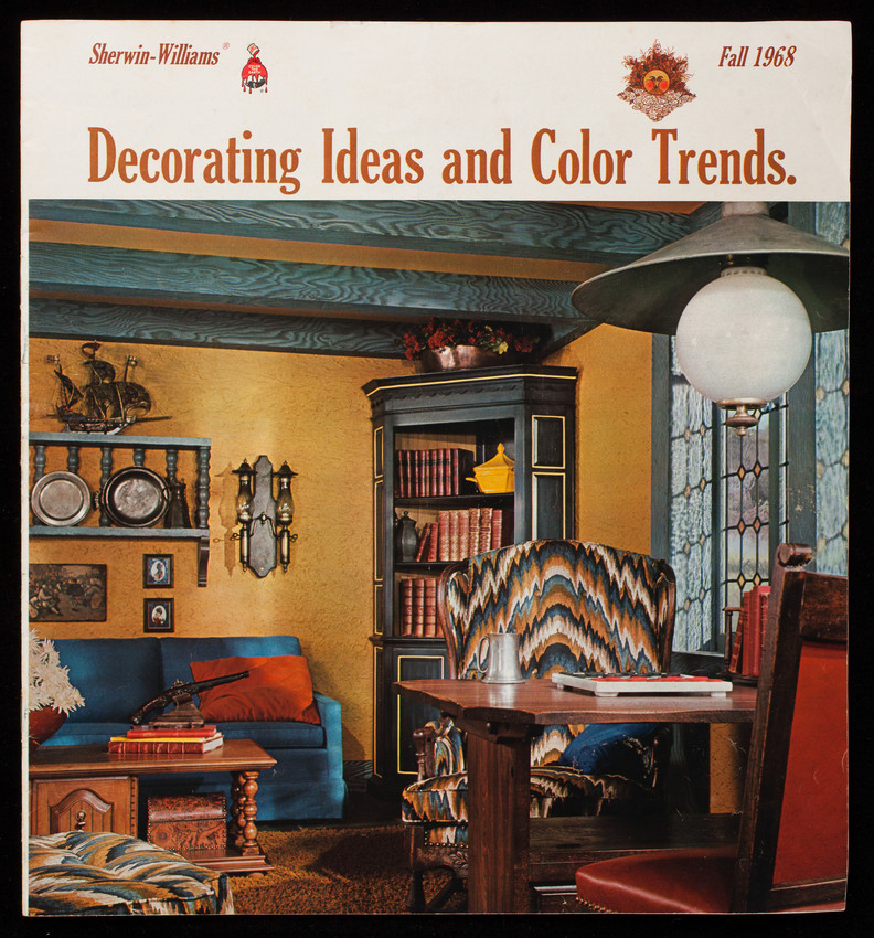 Decorating ideas and color trends, fall 1968, Sherwin-Williams Company, Cleveland, Ohio
