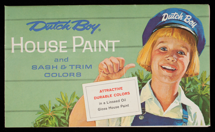 Dutch Boy House Paint and Sash & Trim Colors, National Lead Company, 111 Broadway, New York, New York