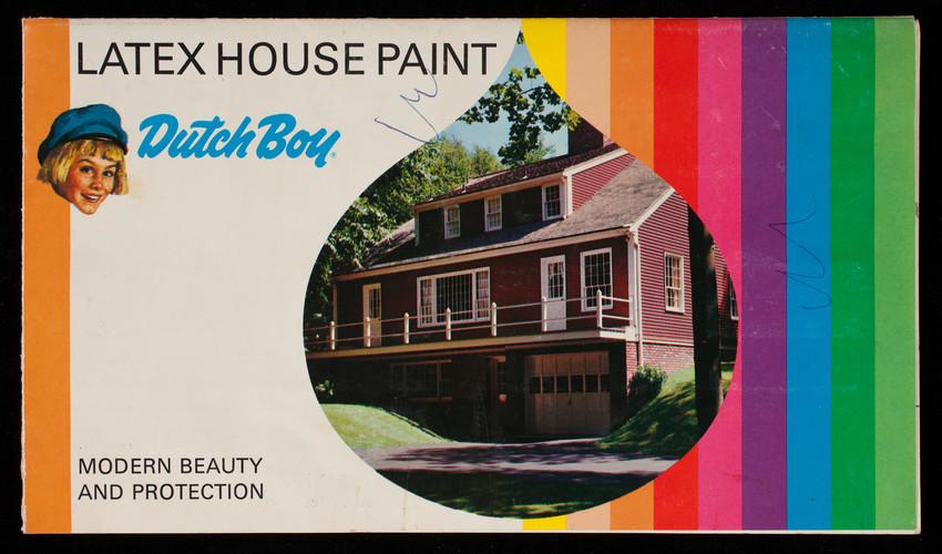 Dutch Boy Latex House Paint, modern beatury and protection, Dutch Boy, Inc., Cleveland, Ohio