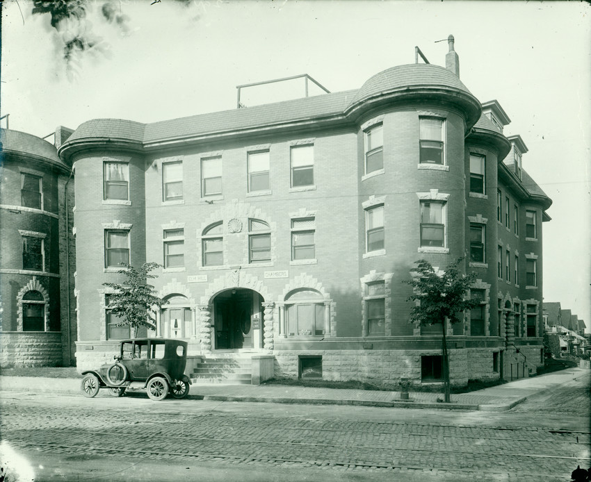 Elm Hill Chambers apartment house, Warren Street near Elm Hill Avenue, Roxbury, Mass., undated