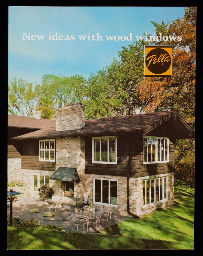 New ideas with wood windows, Pella Products, Rolscreen Company, Pella, Iowa