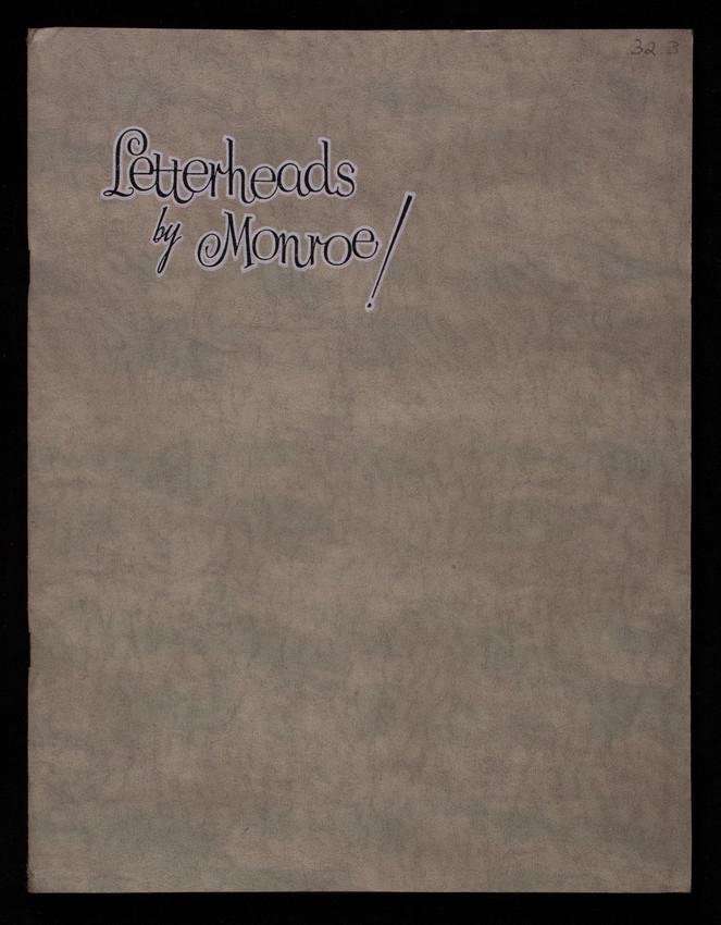 Letterheads by Monroe! Monroe Letterhead Corporation, Huntsville, Alabama