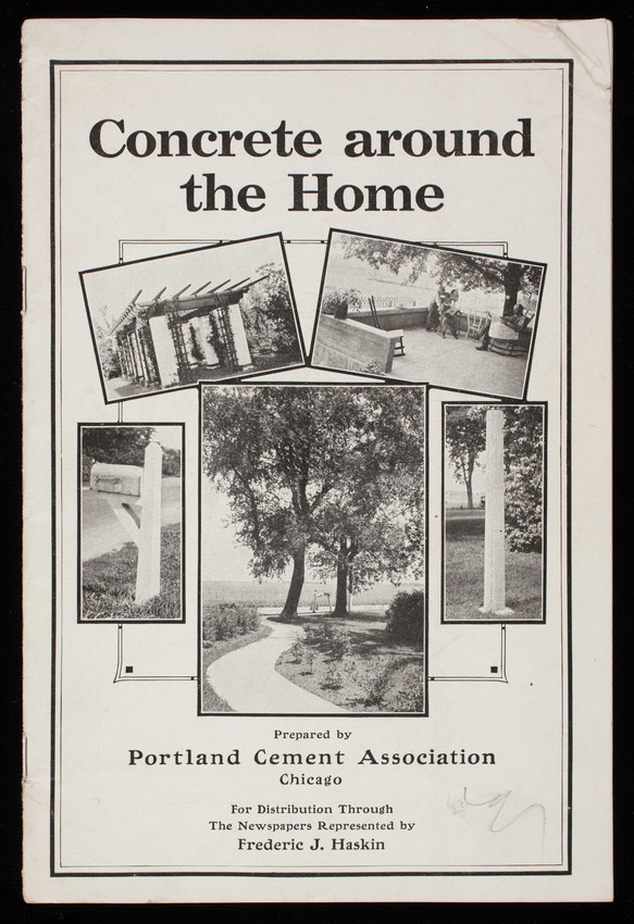 Concrete around the home, prepared by Portland Cement Association, Chicago, Illinois