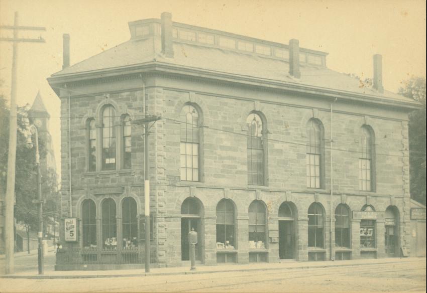 Stone Store, corner of Walnut Ave. and Warren St., Roxbury, Mass.