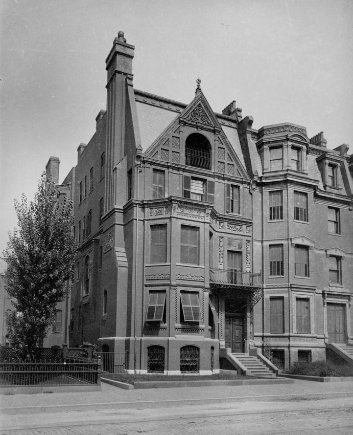 Exterior view of 135 Marlborough St., Boston, Mass., undated