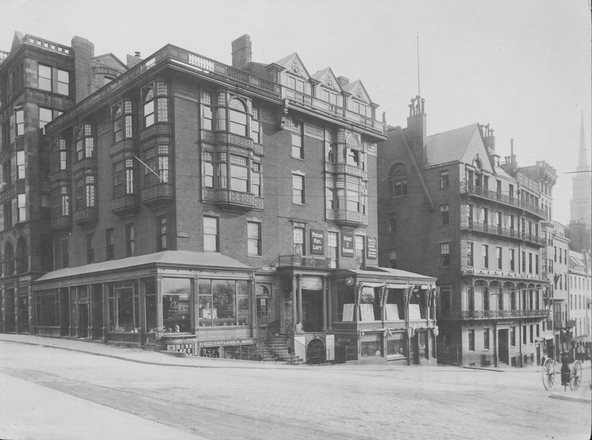 Amory-Ticknor House, 9 Park Street, Boston, Mass., undated