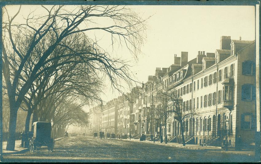 Beacon St., opposite the Boston Public Garden, Boston, Mass., undated