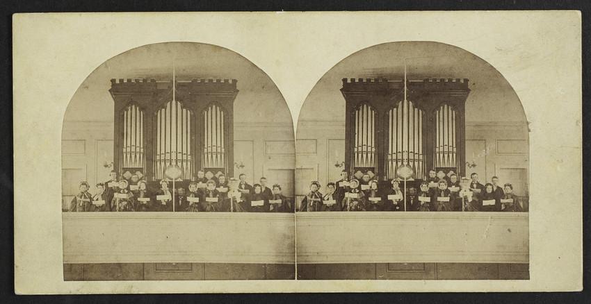 Choir of the first parish in Newbury