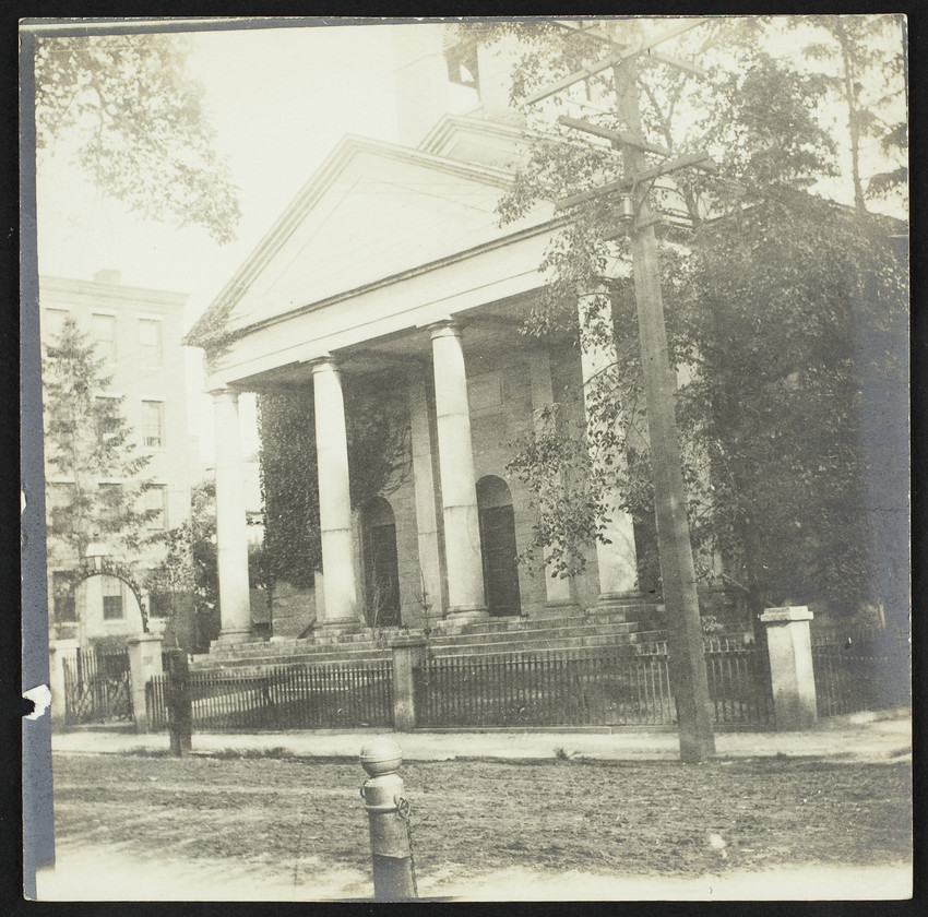 Exterior view of South Church, 292 State Street, Portsmouth, N.H., 1903