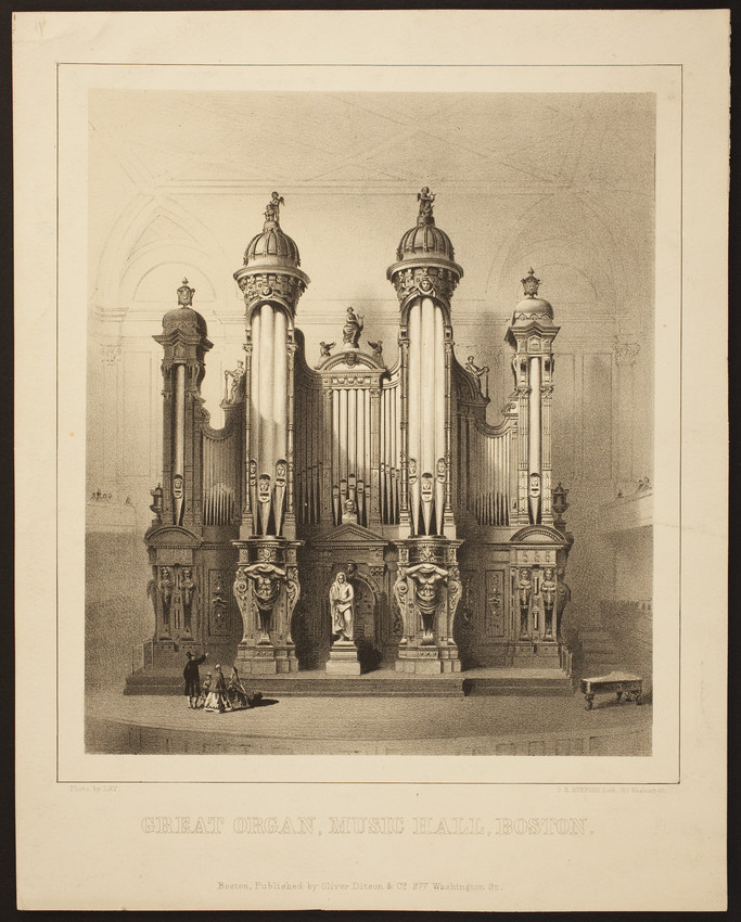 Great Organ, Music Hall, Boston
