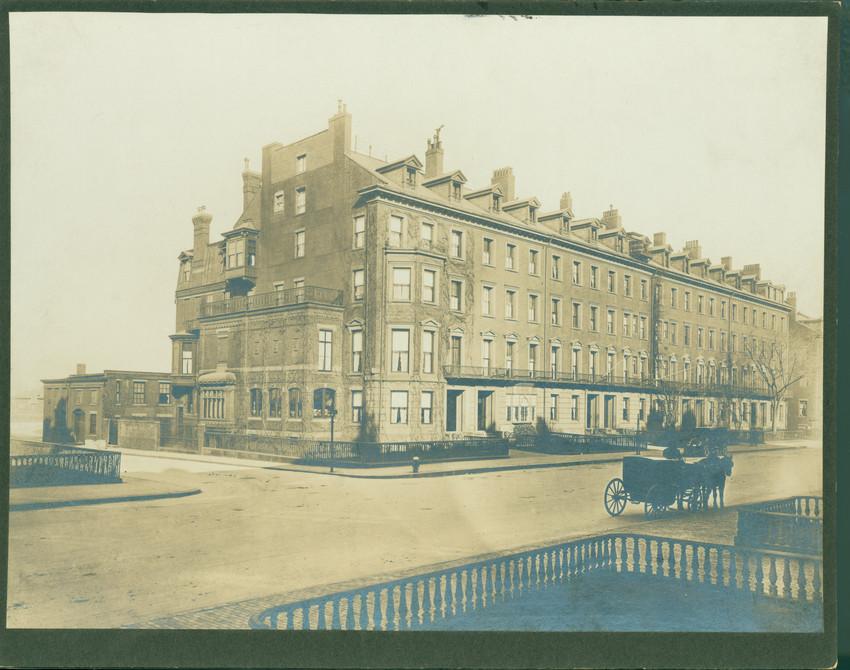 Exterior View Of 67 99 Beacon Street Boston Mass 1911