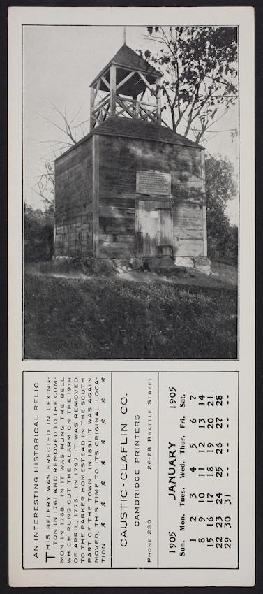 Trade Card For The Caustic Claflin Co Cambridge Printers 26 28