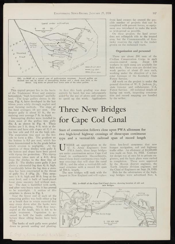 Three New Bridges for Cape Cod Canal,