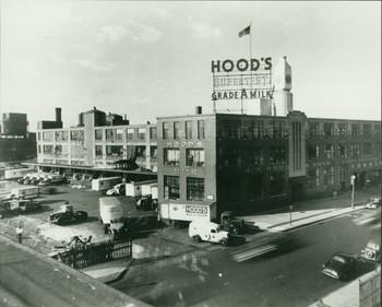 Exterior View Of Hood Milk Plant Charlestown Mass