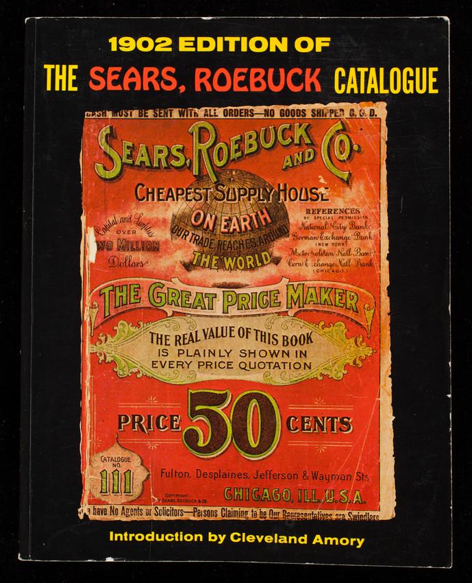 1902 edition of the Sears, Roebuck catalogue, no. 111, Bounty Books, New York, New York | Historic New England