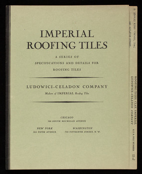 Imperial Roofing Tiles A Series Of Specifications And
