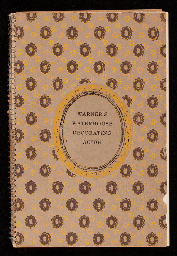 Warner's Waterhouse decorating guide, The Warner Company, 420 South Wabash Avenue, Chicago, Illinois