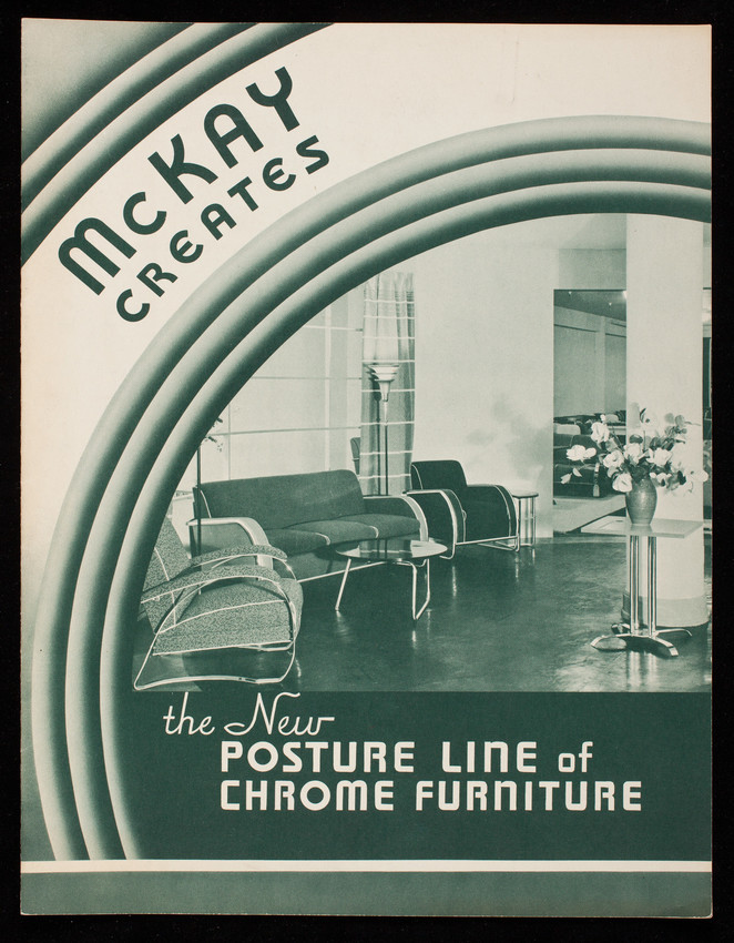 Exceptionnel McKay Creates The New Posture Line Of Chrome Furniture, The McKay Company,  McKay Building, Pittsburgh, Pennsylvania