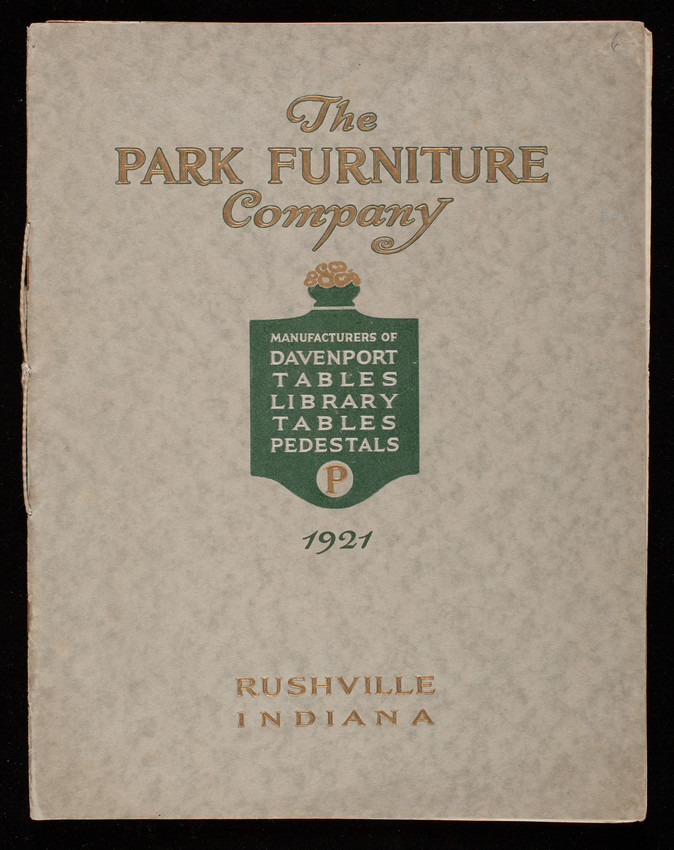 Davenport And Library Tables And Pedestals Catalog 1921